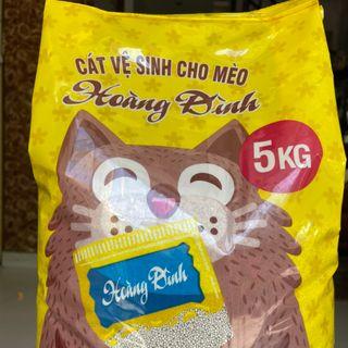 cát vệ sinh cho mèo Hoàng Đình giá sỉ