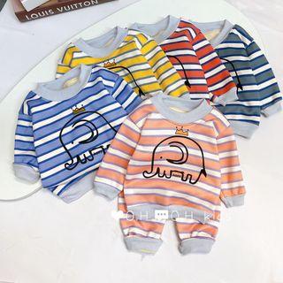Bộ quần áo trẻ em - bộ nỉ lông trẻ em 1-5 giá sỉ