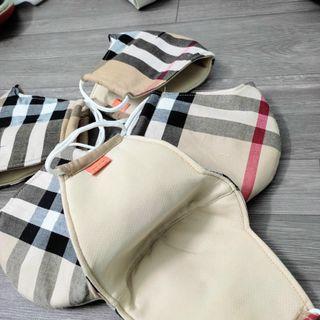 khẩu trang cotton 2 lớp giúp lọc sạch không khi, bụi mịn giá sỉ